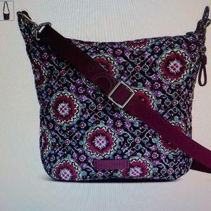 Vera Bradley Medium Purple Crossover/Shoulder Bag